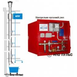 Эксклюзив! Установка пожаротушения систем мусороудаления УПТ