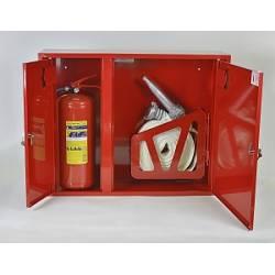 Шкафы для 1 пожарного крана ПК/пожарного рукава и 1 огнетушителя (ШПК-315)