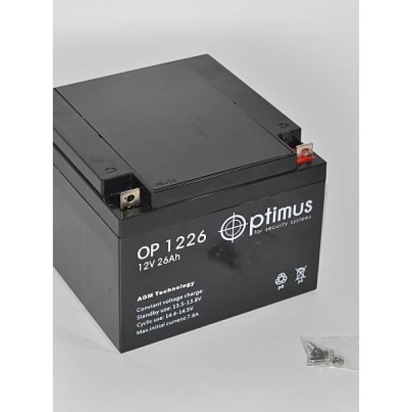 Аккумуляторная батарея 12В 26 Ач