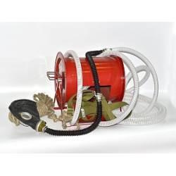 Противогаз шланговый ПШ-40ЭРВ (электроручная воздуходувка)