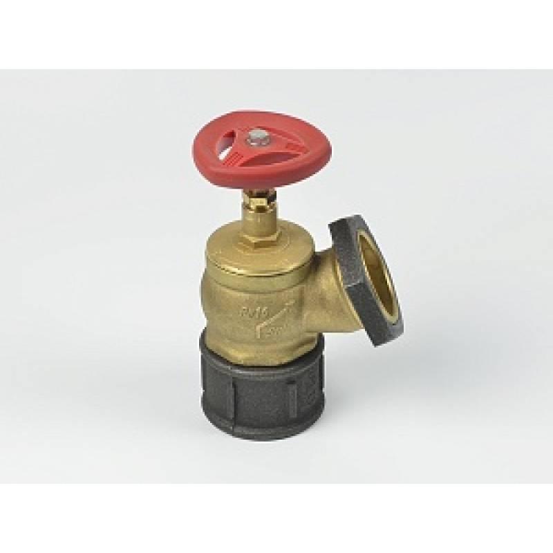 Клапан пожарный кпк-л-65 (латунь, м-ц, прямой, 180 гр)