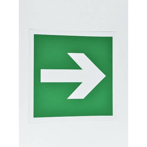 Знак Е02-01 Знак 'Направляющая стрелка' (зелёная)