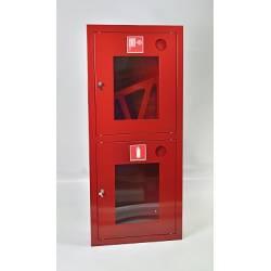 Шкаф пожарный ШПК-320ВОК (встраиваемый открытый красный)