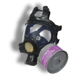 Противогаз гражданский фильтрующий ГП-21 с панорамной маской